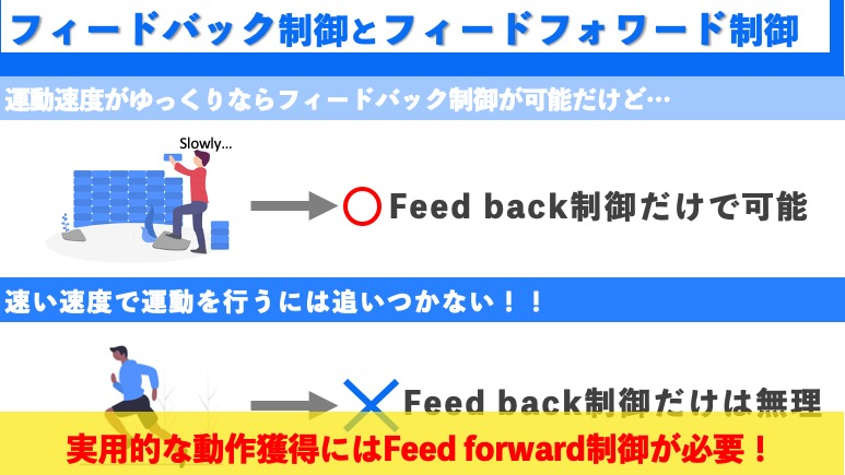 Feed back and Feed forward